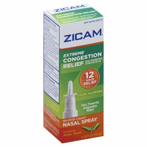 Zicam Extreme Congestion Relief Nasal Spray Perspective: top