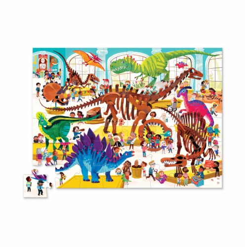 Crocodile Creek® Day At The Museum Puzzle Perspective: top