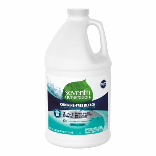 Seventh Generation® Free & Clear Chlorine-Free Bleach Perspective: top