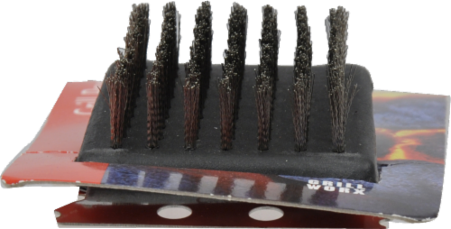 Grill Worx BBQ Short Grill Brush Perspective: top
