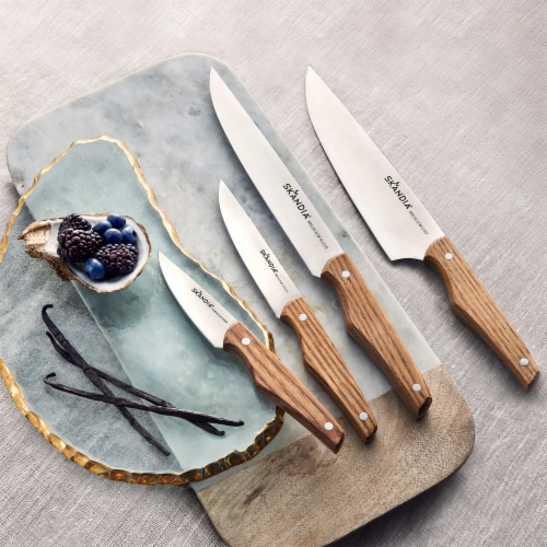 Hampton Forge Skandia Cutlery Set - Karlstad Ash Perspective: top