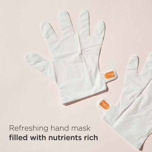 Pick Up & Go 3 Sheets Moisturizing Orange Hand Mask Perspective: top