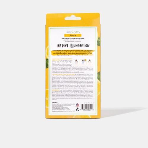 Pick Up & Go 24 Sheets Nourishing Mango Hand Mask Perspective: top