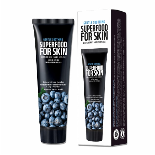 FARMSKIN 4 Packs Superfood Blueberry Hand Cream Perspective: top
