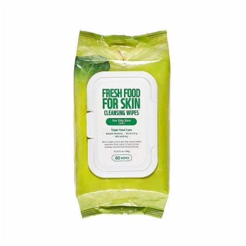 FARMSKIN Triple Apple Cleansing Set for Oily Skin (Freshfood) Perspective: top