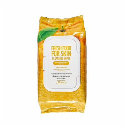 FARMSKIN Triple Orange Cleansing Set for Normal Skin (Freshfood) Perspective: top