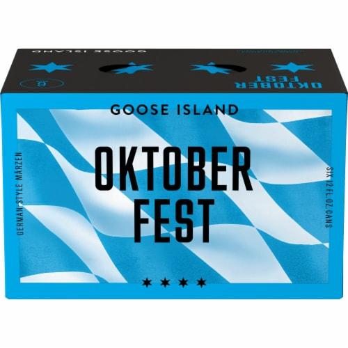 Goose Island Seasonal Beer Perspective: top