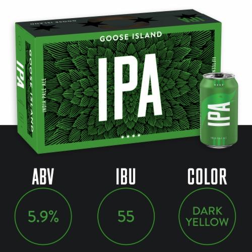 Goose Island IPA Beer Perspective: top