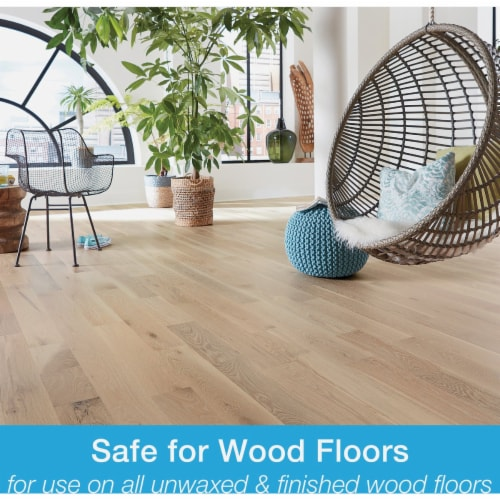Bona PowerPlus 160 Oz. Ready-To-Use Hardwood Floor Cleaner Refill WM850056001 Perspective: top