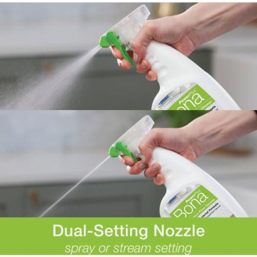 Bona  PowerPlus  Hard Surface Floor Cleaner  Liquid  32 oz. - Case Of: 8; Perspective: top