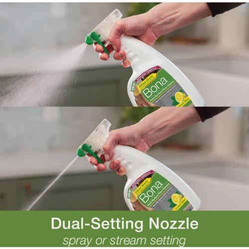Bona  Lemon Mint Scent Hard Surface Floor Cleaner  Liquid  36 oz. - Case Of: 8; Perspective: top