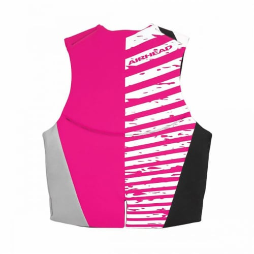 Airhead Wicked Neolite 50-90 Lb Pink Youth Life Vest Jacket   10077-03-B-HP Perspective: top