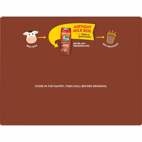Horizon Organic Lowfat Chocolate Milk Perspective: top
