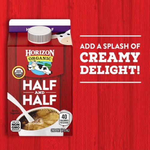 Horizon Organic Half and Half Perspective: top