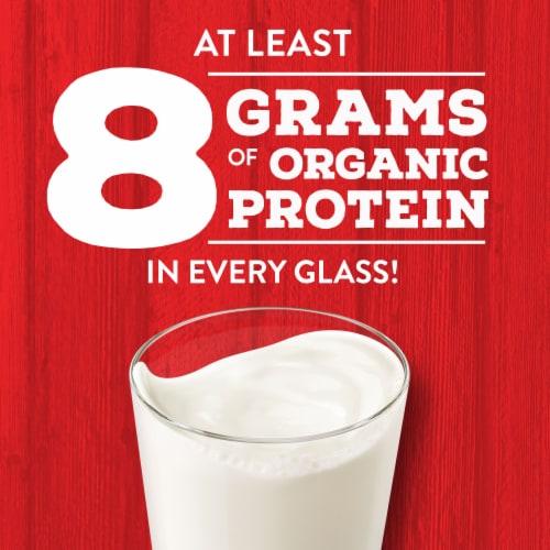 Horizon Organic Fat Free Milk Perspective: top
