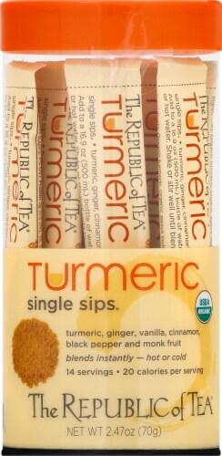 The Republic of Tea Turmeric Single Sips Perspective: top