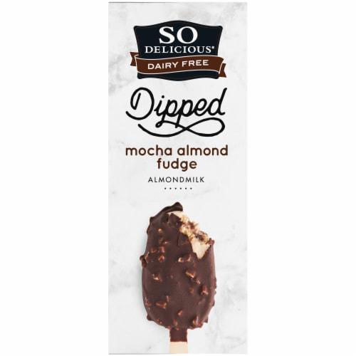 SO Delicious Almond Milk Mocha Fudge Bars 4 Count Perspective: top