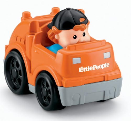 Fisher-Price® Little People Wheelies Recycle Truck Perspective: top