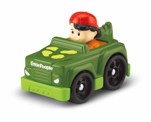 Fisher-Price® Little People Wheelies Koby Perspective: top
