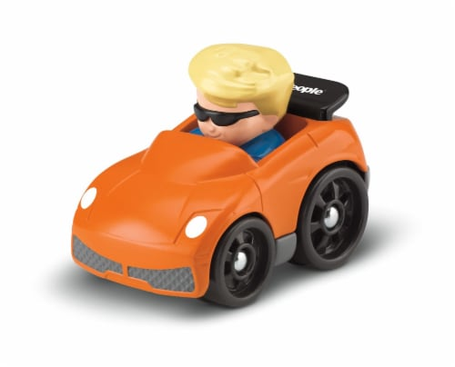 Fisher-Price® Little People Wheelies Eddie Perspective: top
