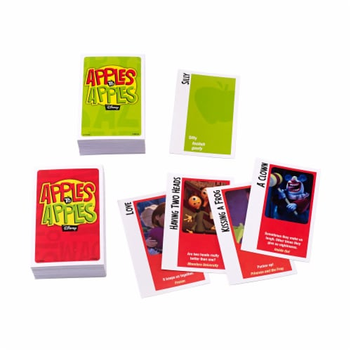 Mattel Disney Edition Apples to Apples Perspective: top