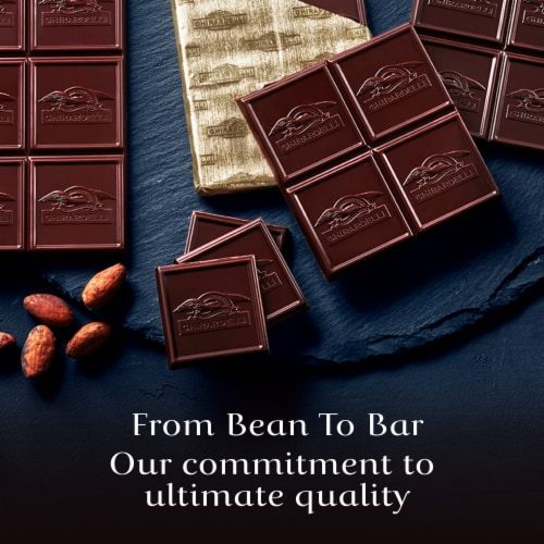 Ghirardelli Intense Dark 86% Cacao Midnight Reverie Chocolate Bar Perspective: top