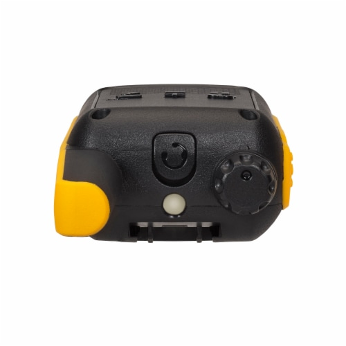 Motorola Solutions Talkabout T475 Two-Way Radios - Black/Yellow Perspective: top