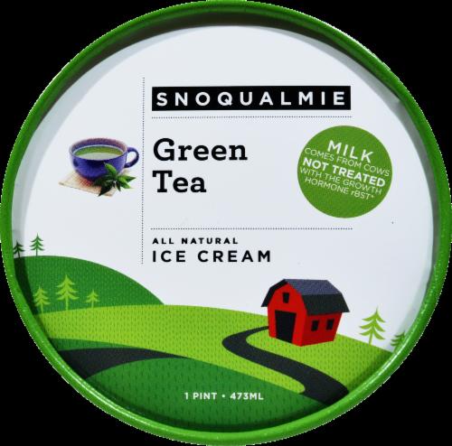 Snoqualmie Green Tea Ice Cream Perspective: top