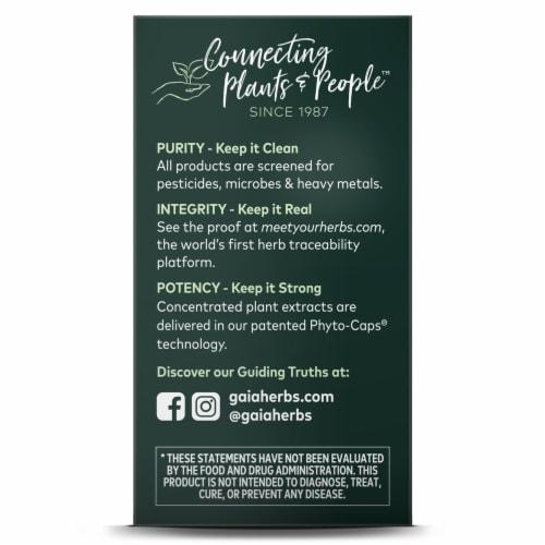 Gaia® Herbs SleepThru® Herbal Supplement Perspective: top