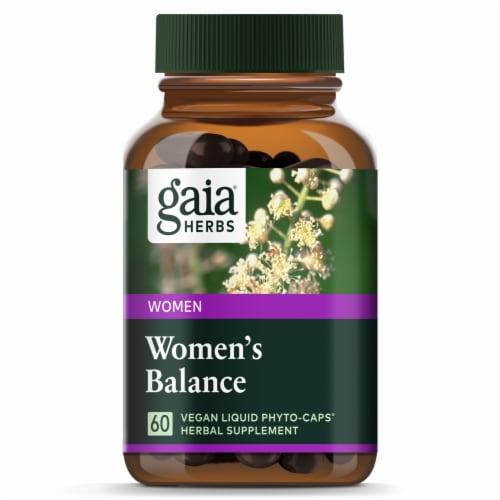 Gaia Herbs SystemSupport Women's Balance Dietary Supplement Perspective: top