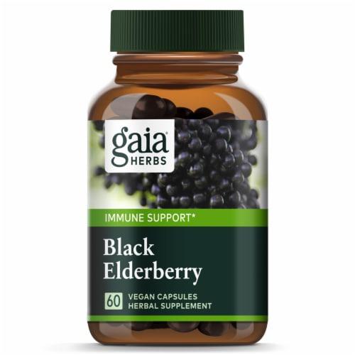 Gaia Herbs  Black Elderberry Perspective: top