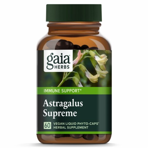 Gaia Herbs Daily Wellness Astragalus Supreme Dietary Supplement Perspective: top