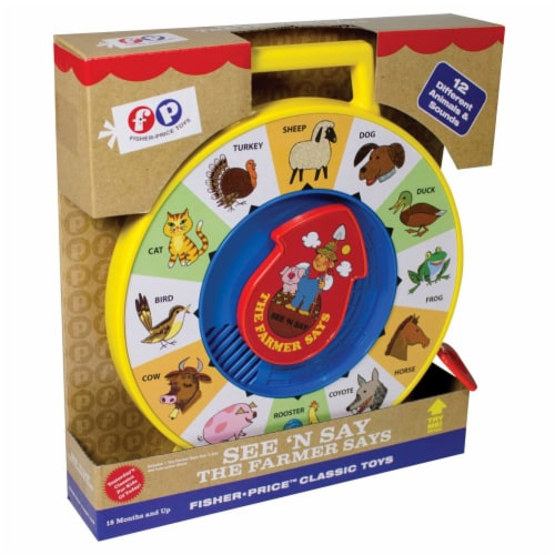 Fisher Price(R) See 'n Say Farmer Says Perspective: top