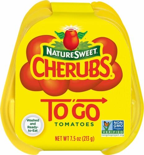 NatureSweet Cherubs ToGo Tomatoes Perspective: top