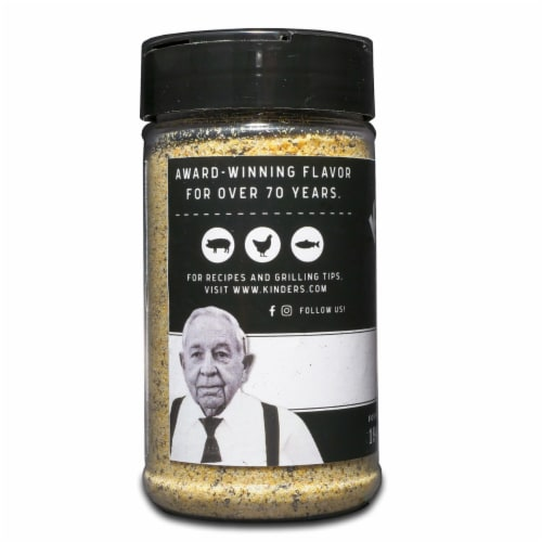 KINDER'S The Blend Seasoning (10.5 Ounce) Perspective: top