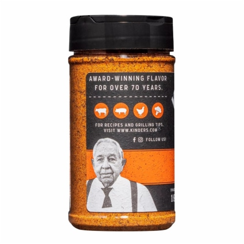 Kinder's Butcher's All Purpose Seasoning (9.4 Ounce) Perspective: top