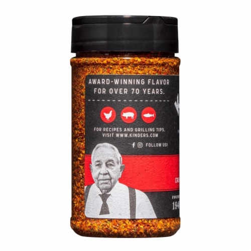 Kinder's Red Garlic Seasoning (7 Ounce) Perspective: top