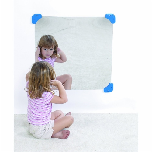 Children's Factory Square Mirror Perspective: top