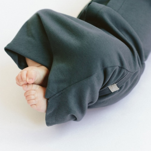 Goumikids Baby Night Gown Sleepsack Pajama Organic Sleep Clothes, 3-6M Midnight Perspective: top