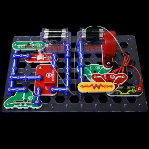 Elenco Snap Circuits LIGHT Perspective: top