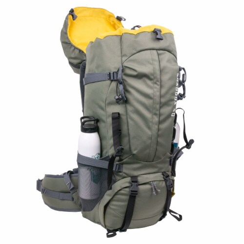 NorthRange Shaddox 40L Camping Backpack Perspective: top