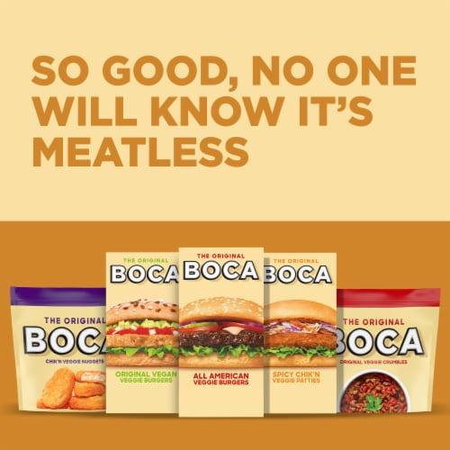Boca Spicy Chick'n Veggie Patties Perspective: top