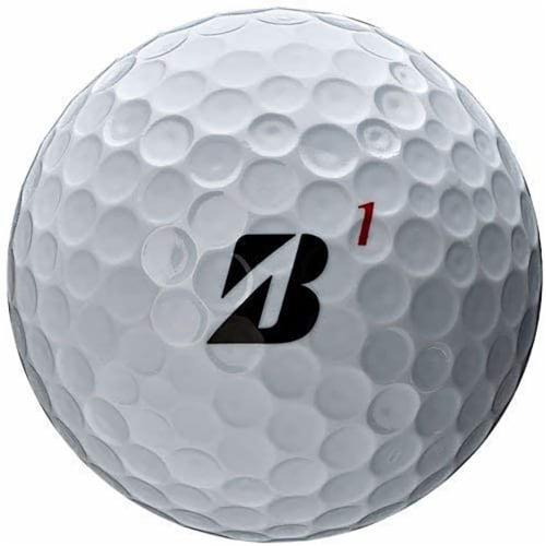 Bridgestone B0WX6D Bridgestone Tour B X Golf Balls-Dozen White Perspective: top