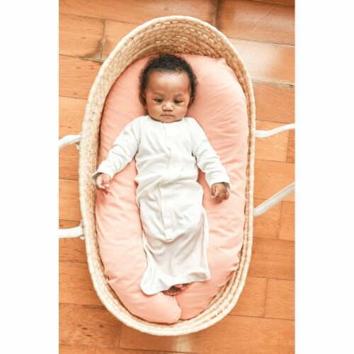 Goumikids Baby Sleeper Gown Organic Sleepsack PJ Clothes, 0-3M Sun Kissed Valley Perspective: top