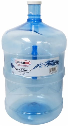 American Maid Water Bottle with Handle Perspective: top