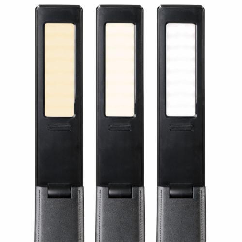 OttLite Rise LED Desk Lamp with Digital Display - Black Perspective: top