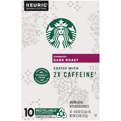 Starbucks Plus Dark Roast K-Cup Pods Perspective: top