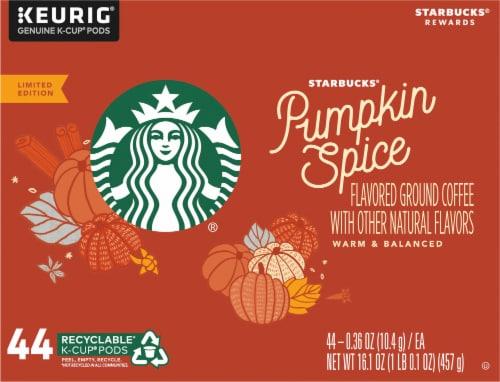Starbucks® Pumpkin Spice Ground Coffee K-Cup Pods Perspective: top