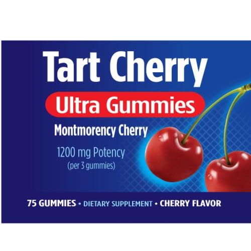 Nature's Way Tart Cherry Ultra Gummies 1200mg Perspective: top