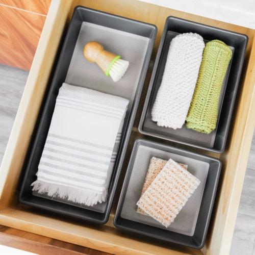 madesmart® Organizing Bin - Granite Perspective: top